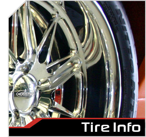 Tire Info And Size Chart
