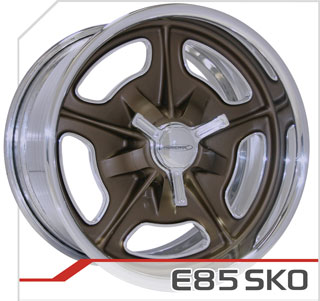 E85 SKO, bronze/polished