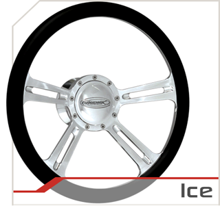 Ice steering wheel